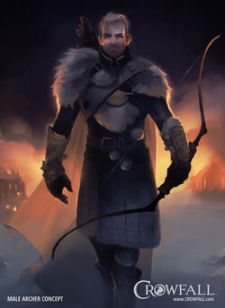 Crowfall MaleArcherConcept