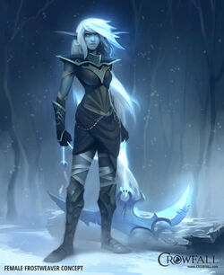 Crowfall FemaleFrostweaver Concept