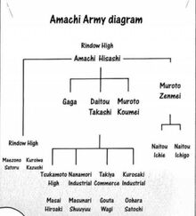 Amachi Army's Structure