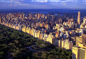 Upper east side skyline
