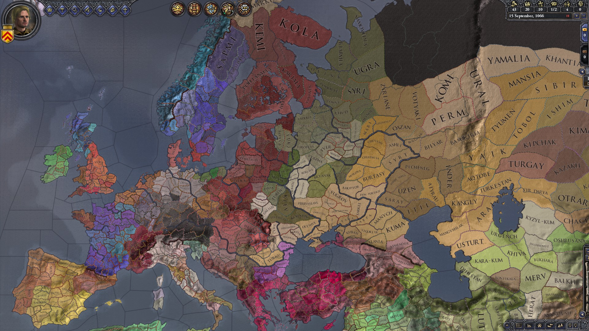 Shattered world (Mod) | Crusader Kings II Wiki | FANDOM