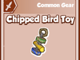 Chipped Bird Toy