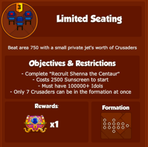 PPPLimitedSeating