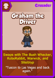 Graham the Driver Card