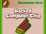 Hacked Computer Chip