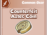 Counterfeit Aztec Coin
