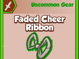 Faded Cheer Ribbon