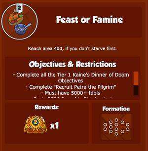 KDD FeastOrFamine