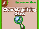 Clear Magnifying Glass