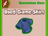 Used Game Shirt