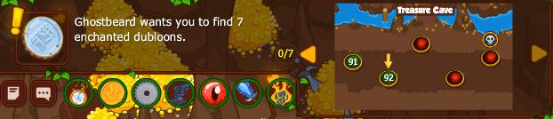 Captain Ghostbeard's Greed: Map 19: Levels 91-95 -- Treasure