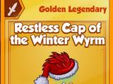 Restless Cap of the Winter Wyrm (Golden Legendary)