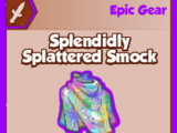 Splendidly Splattered Smock