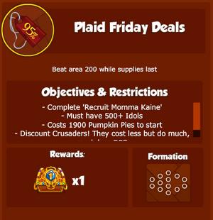 KDD PlaidFridayDeals