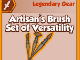 Artisan's Brush Set of Versatility