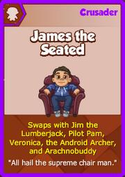 JamesTheSeatedCard