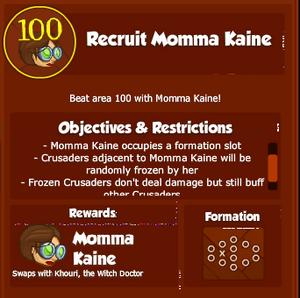 KDD RecruitMommaKaine