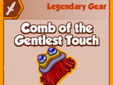 Comb of the Gentlest Touch