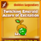 Twitching Emerald Acorn of Excitation (Golden Legendary) Thumbnail