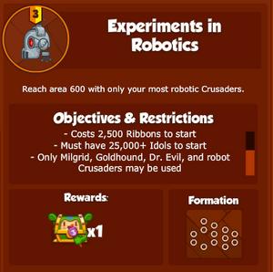 DESSExperimentsinRobotics