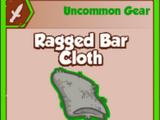 Ragged Bar Cloth