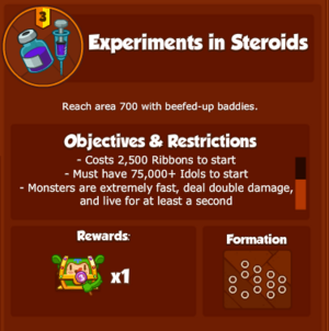 DESSExperimentsinSteroids