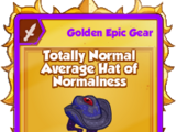 Totally Normal Average Hat of Normalness
