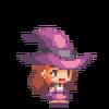 Purple Light Witch Dorothy
