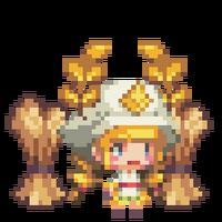 Demeter in the Golden Wheat Field