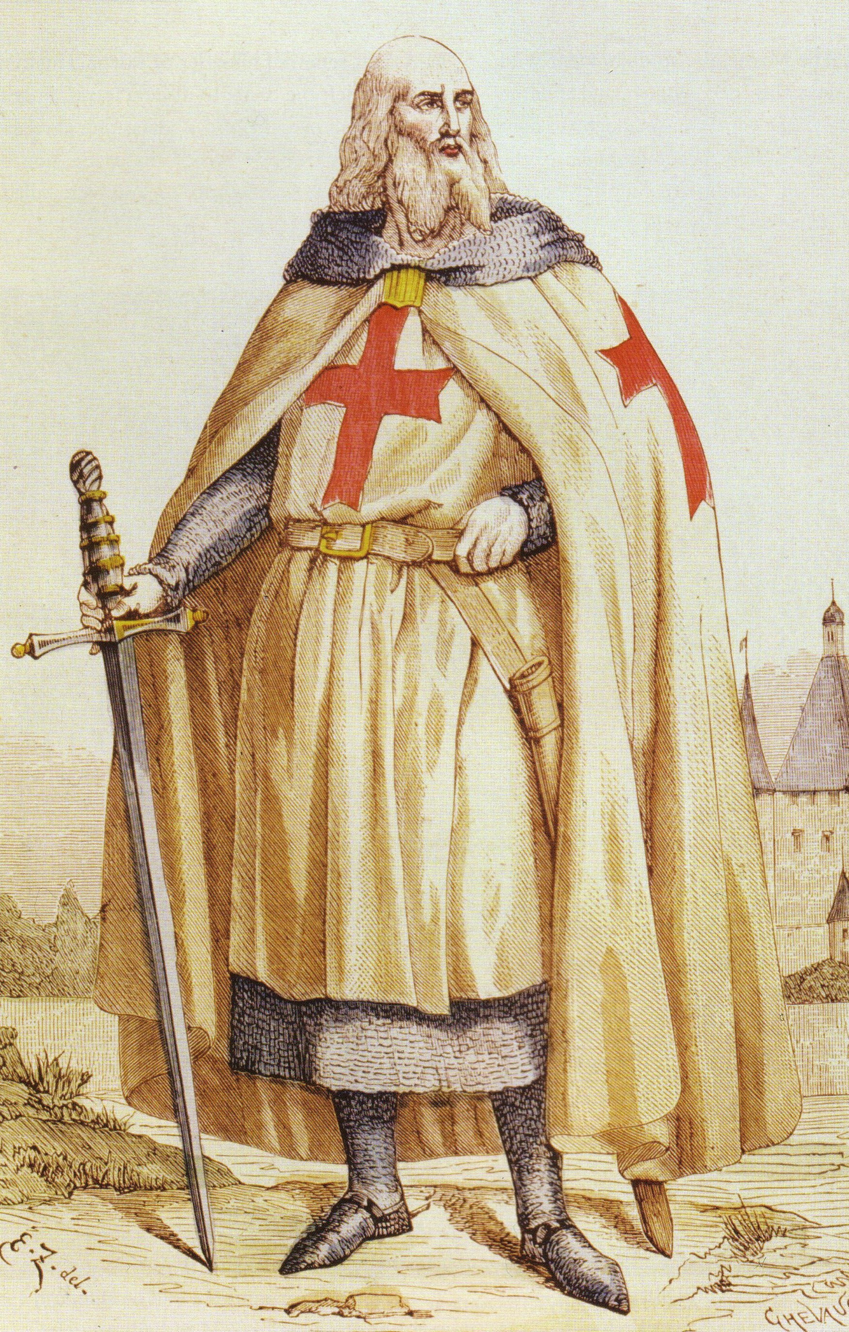 Grand Masters of the Knights Templar | Crusades Wiki | FANDOM ...