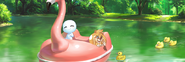 Animal date boat
