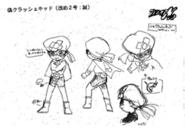 Crush Kid (Makoto) concept art