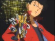 Eventual defeat of Takeshi Manganji