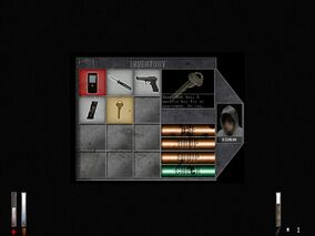 Old Cry of Fear inventory