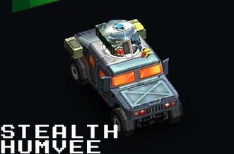 Stealth Humvee
