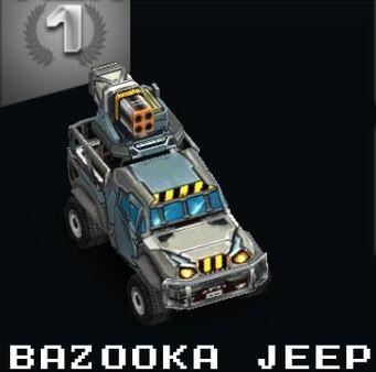 Bazooka Jeep