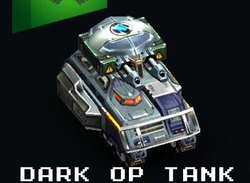 Dark Op Tank