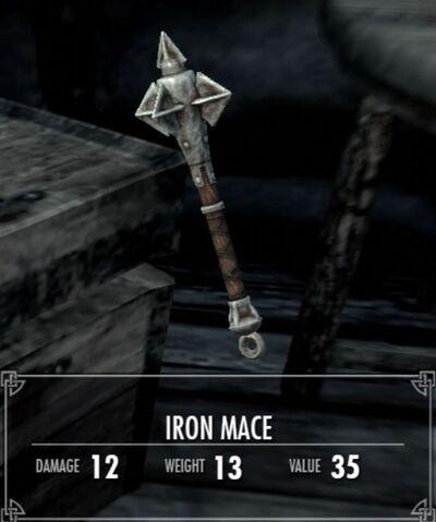 File:Skyrim Iron Mace.jpg