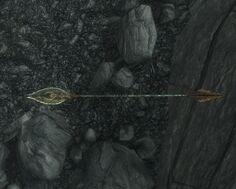 Skyrim weapon glass arrow