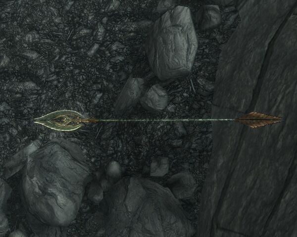 File:Skyrim weapon glass arrow.jpg