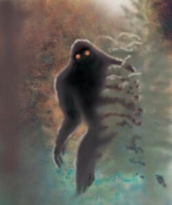 Bigfoot, red-eyes, Bill Rebsamen