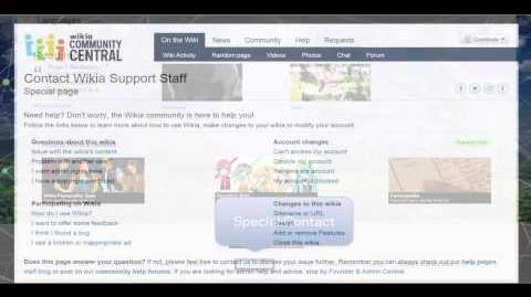 Wikia University - How to Contact Wikia