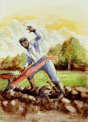Earth hound and gardener, William Rebsamen
