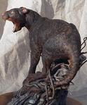 Black Thylacoleo model