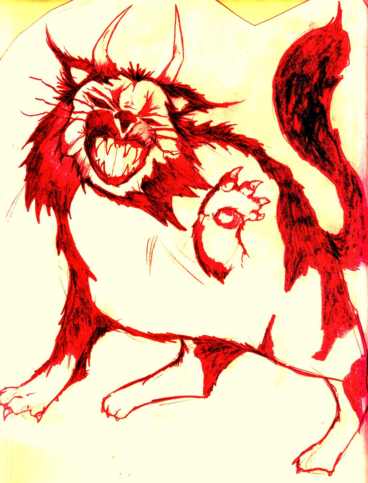 Cryptids and Myths Wiki:Workshop/Horned demon cat | Cryptids and