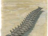 Many-finned sea serpent