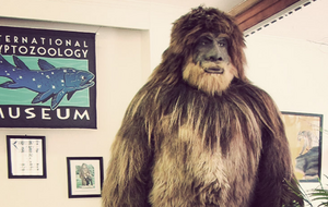 Cryptid Museum bigfoot model
