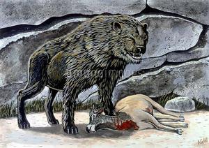 Nandi bear hyena