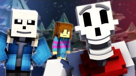 """To The Bone"" Minecraft Undertale Music Video PACIFIST"