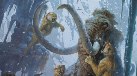 Fantasy Mammoth Art